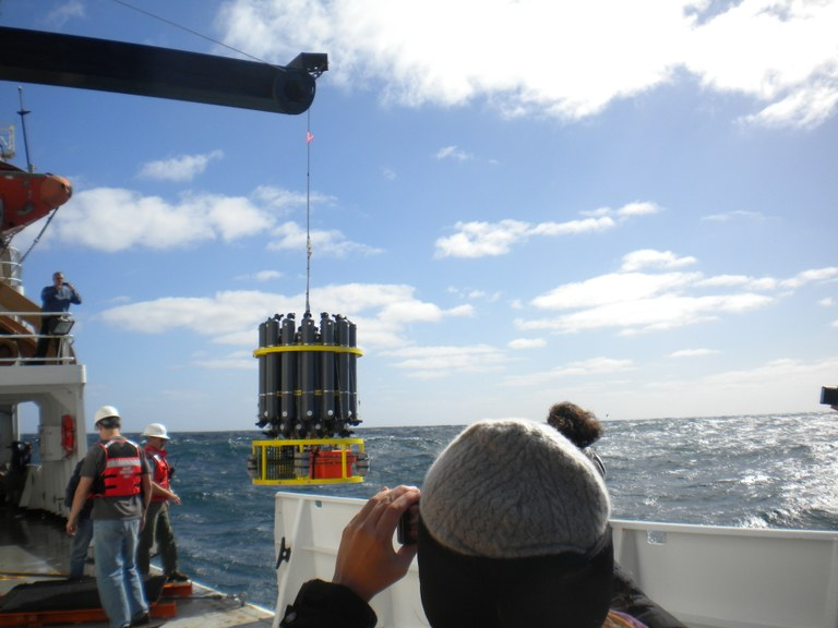Oceanography research mission