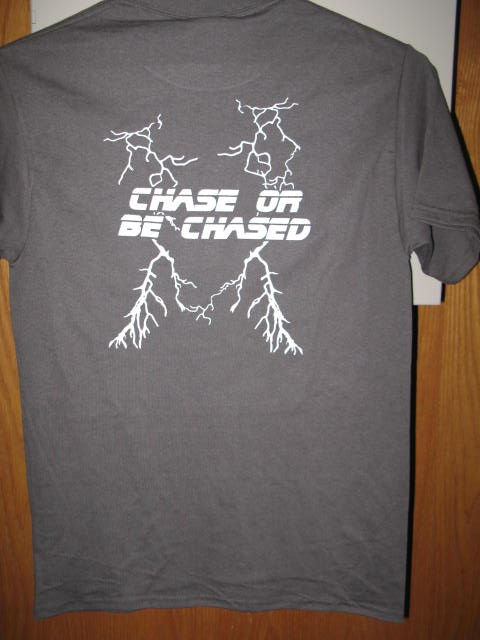 Storm Chase Team T back gray