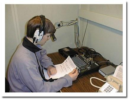 Radio Booth