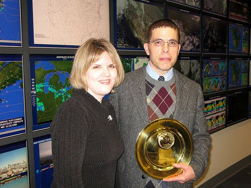Steve and Sarah Corfidi