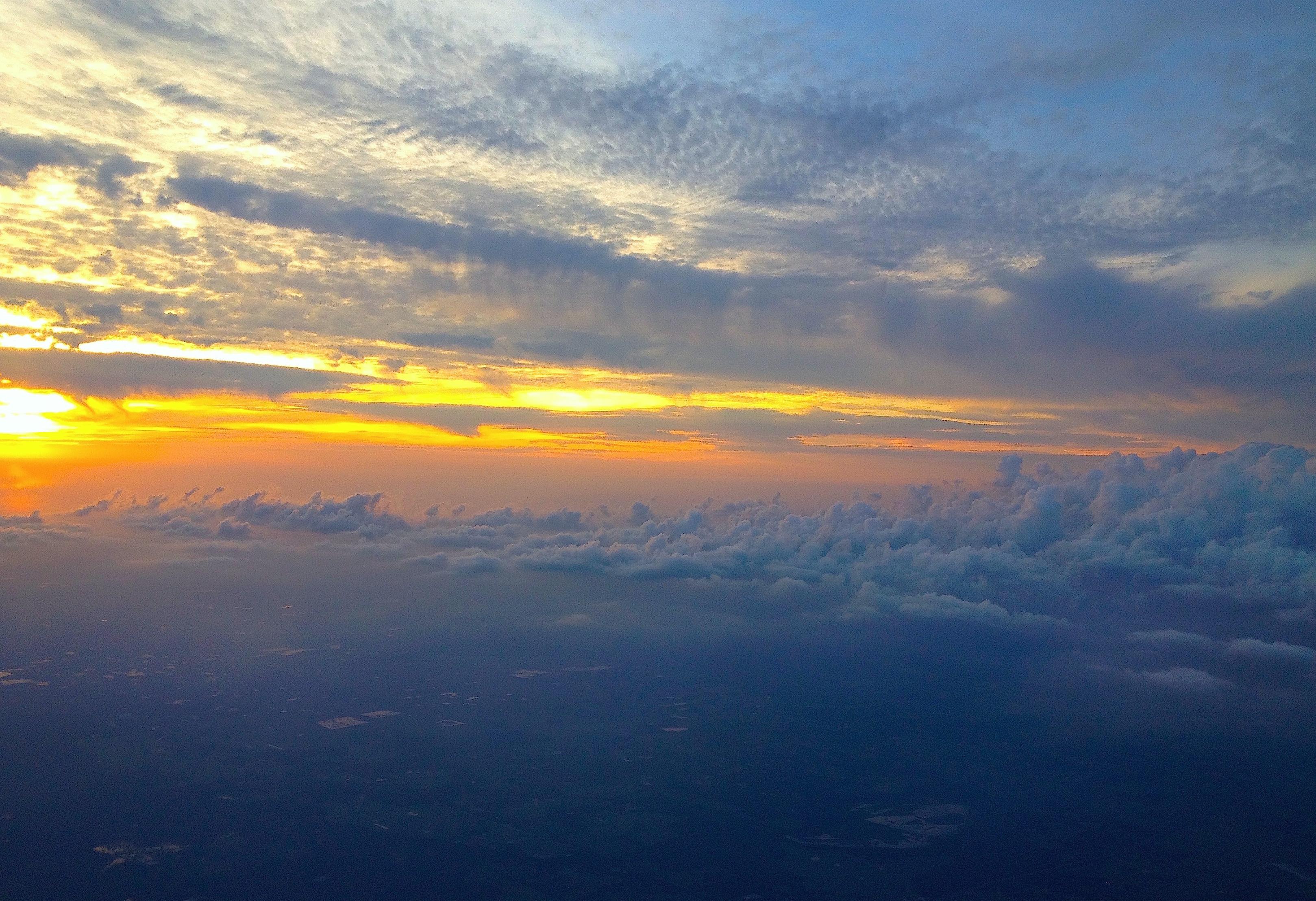 Caroline Normile Flying north