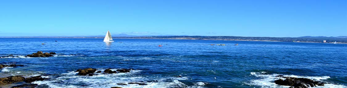 Sailboat, Monterey CA