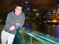 PhD student, Jared Lee, makes the most of Australian hospitality to share his research