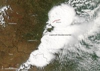 Oklahoma Tornado: NASA Release Images; 1.3 Mile Wide Twister More Powerful Than Atom Bomb?