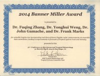 Zhang and Weng win American Meteorological Society's 2014 Banner Miller Award
