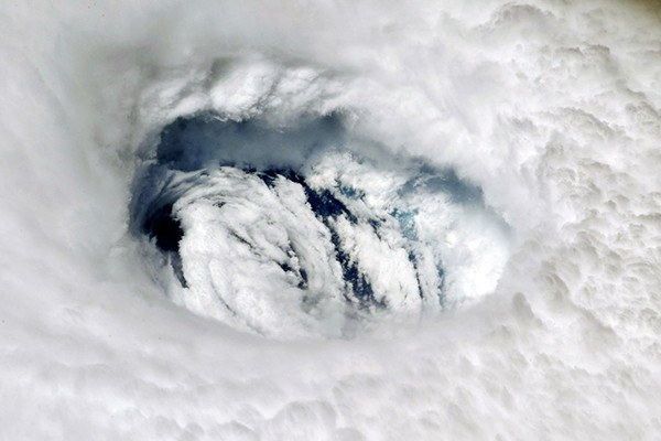 Hurricane Dorian from the International Space Station.