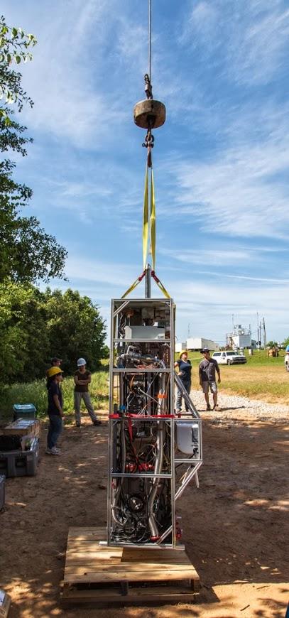 Equipment for SOAS study, Alabama 6/2013
