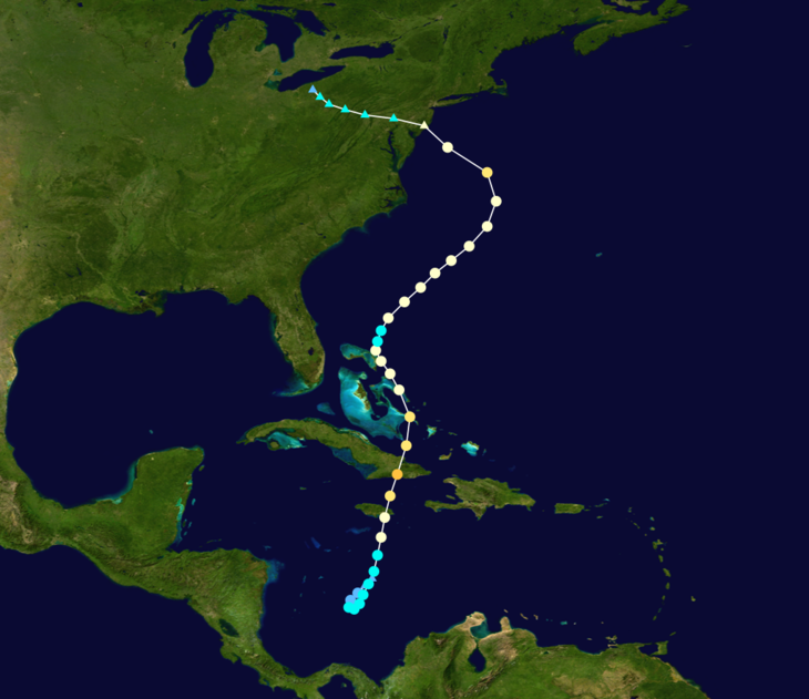 Path of Hurricane Sandy East Coast.png