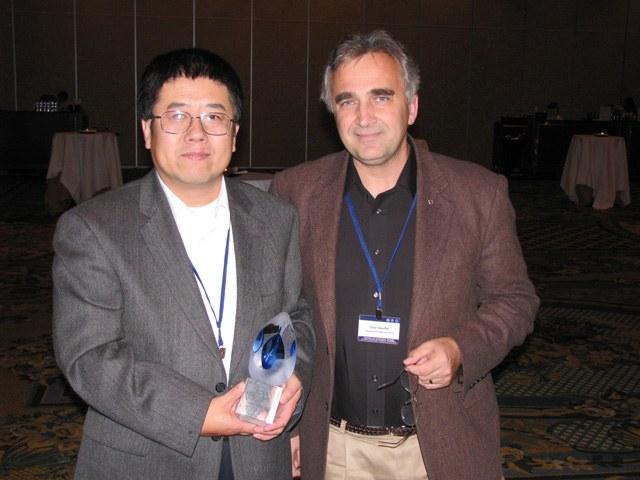 Deng and Stauffer Award November 08
